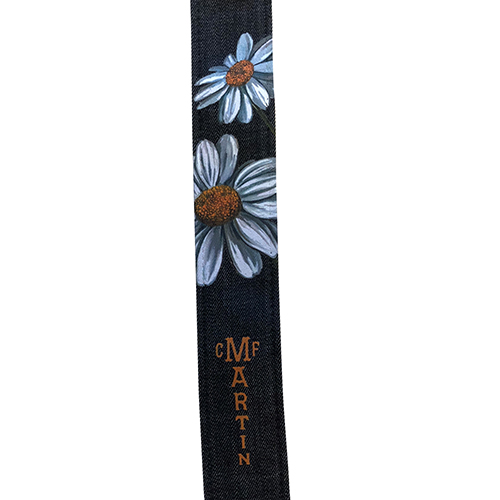 Martin Denim Daisy Strap In Black