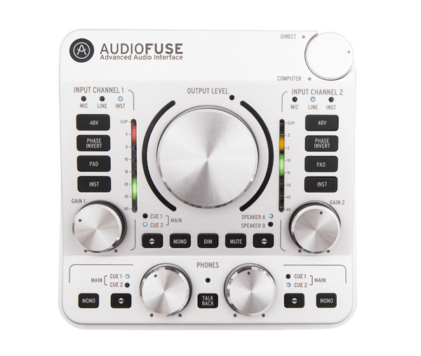 Arturia Audiofuse Audio Interface In Silver