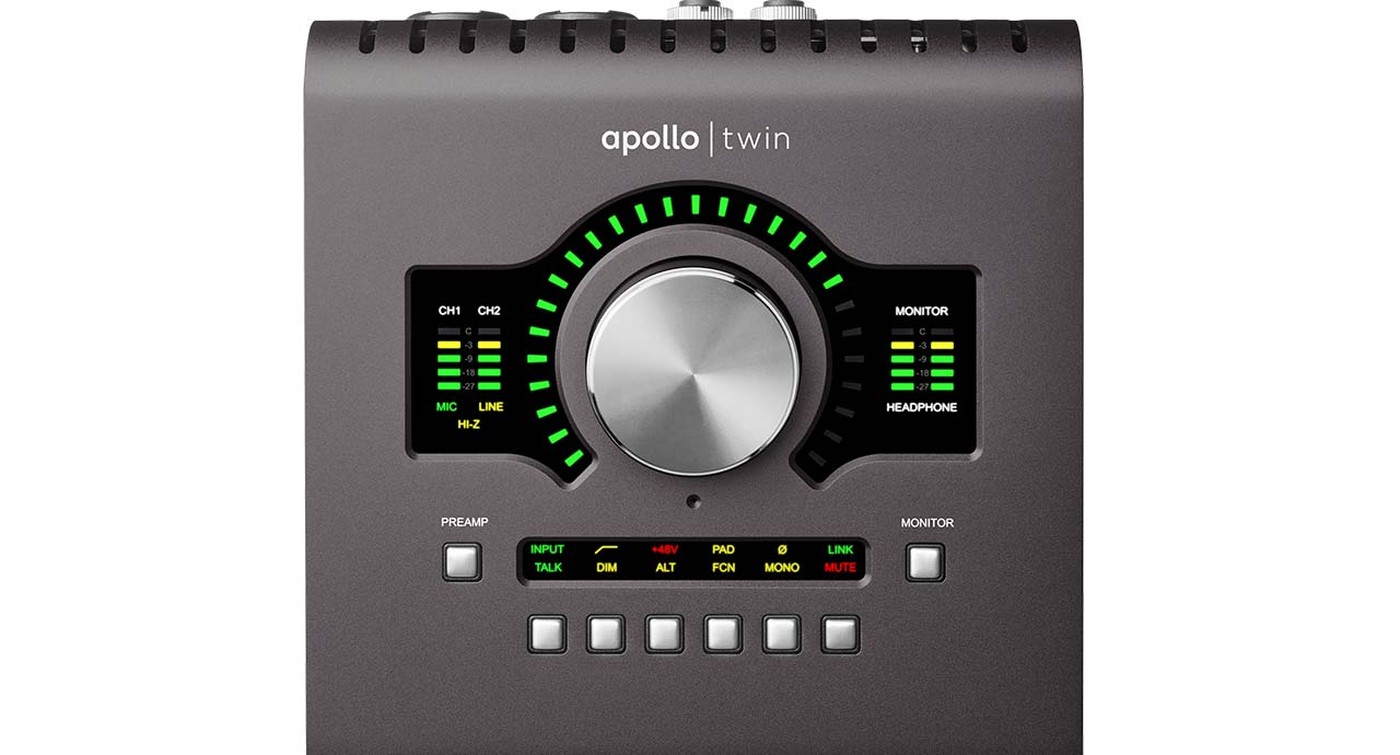 Universal Audio Apollo Twin Solo MKII  …