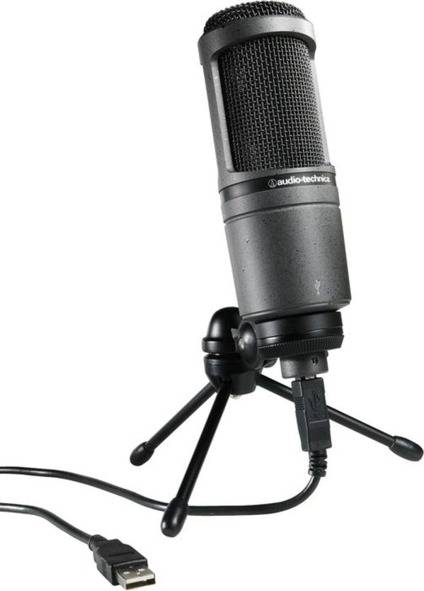 Audio Technica AT2020-USB-PLUS Condenser Mic