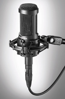 Audio-Technica AT2035 Side Address Studio Mic