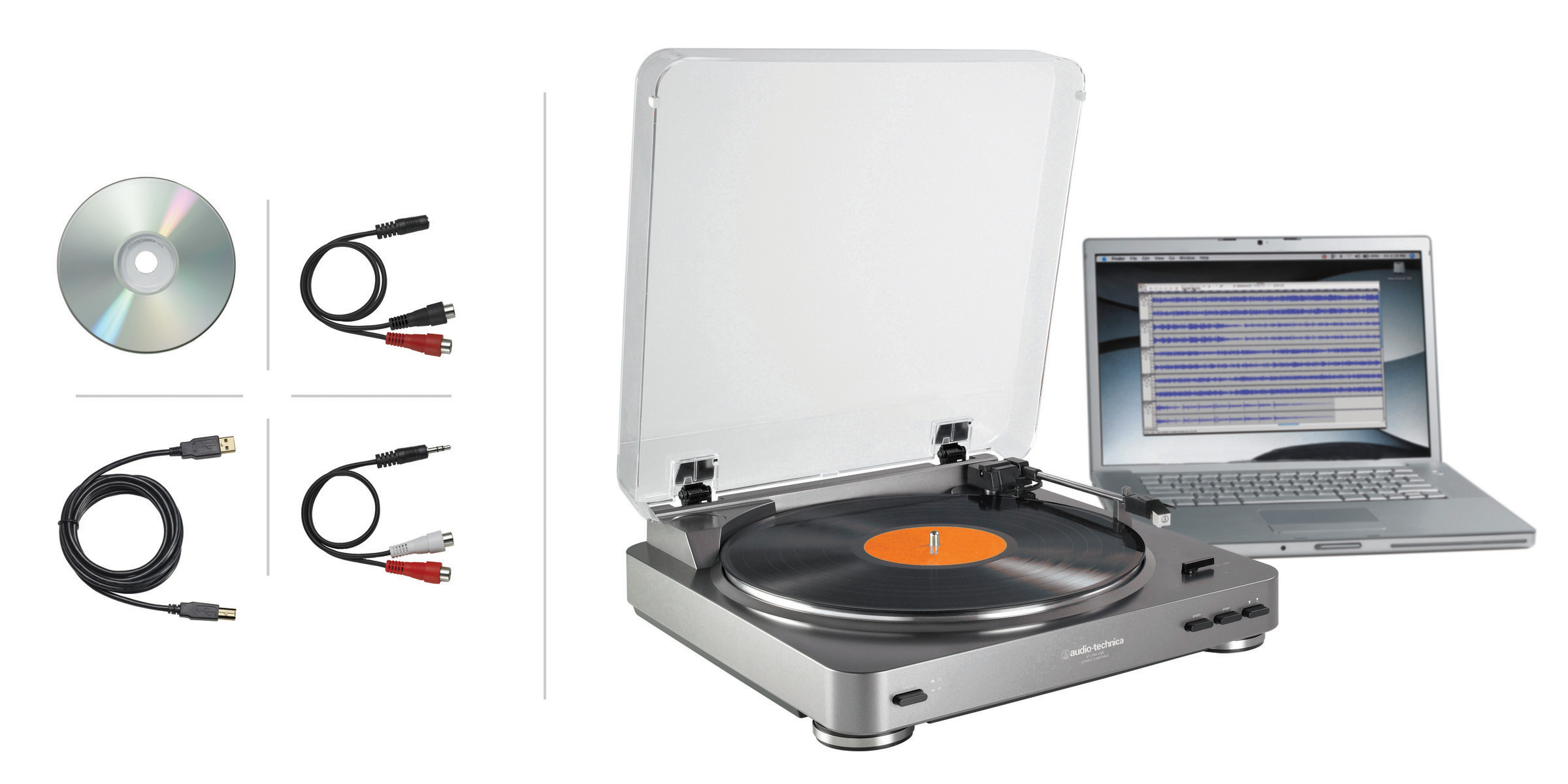 Audio Technica LP60 USB Turntable