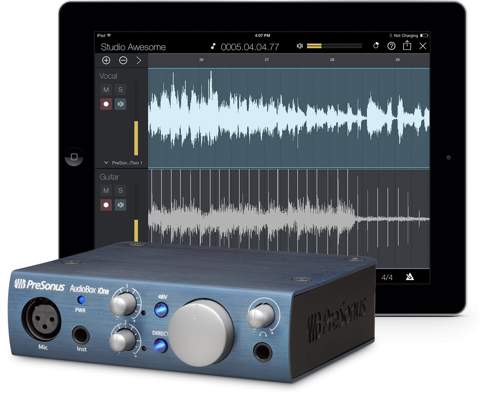 Presonus Audiobox iOne 2x2 USB iPad Interface