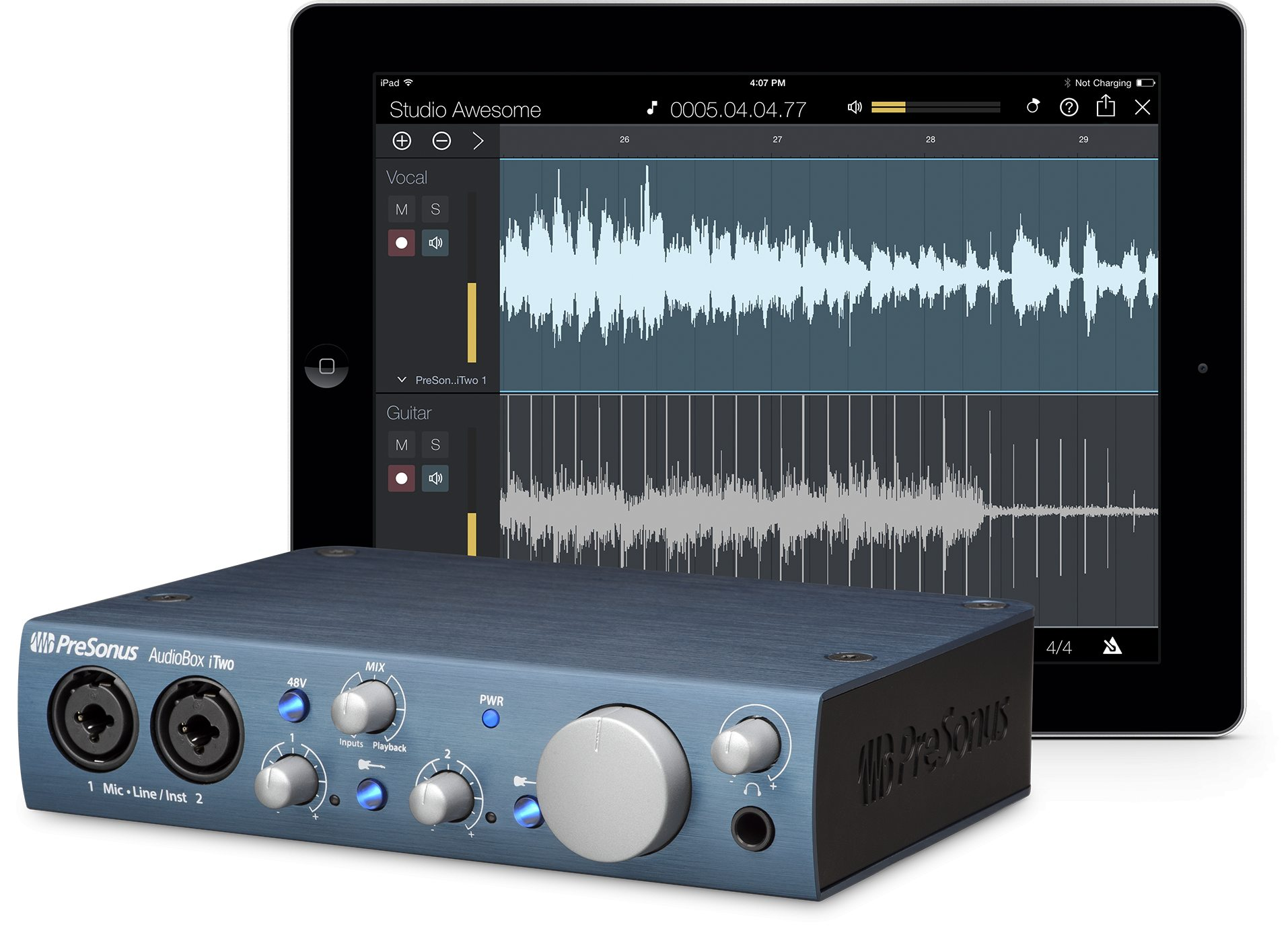 Presonus Audiobox iTwo 2x2 USB iPad Interface