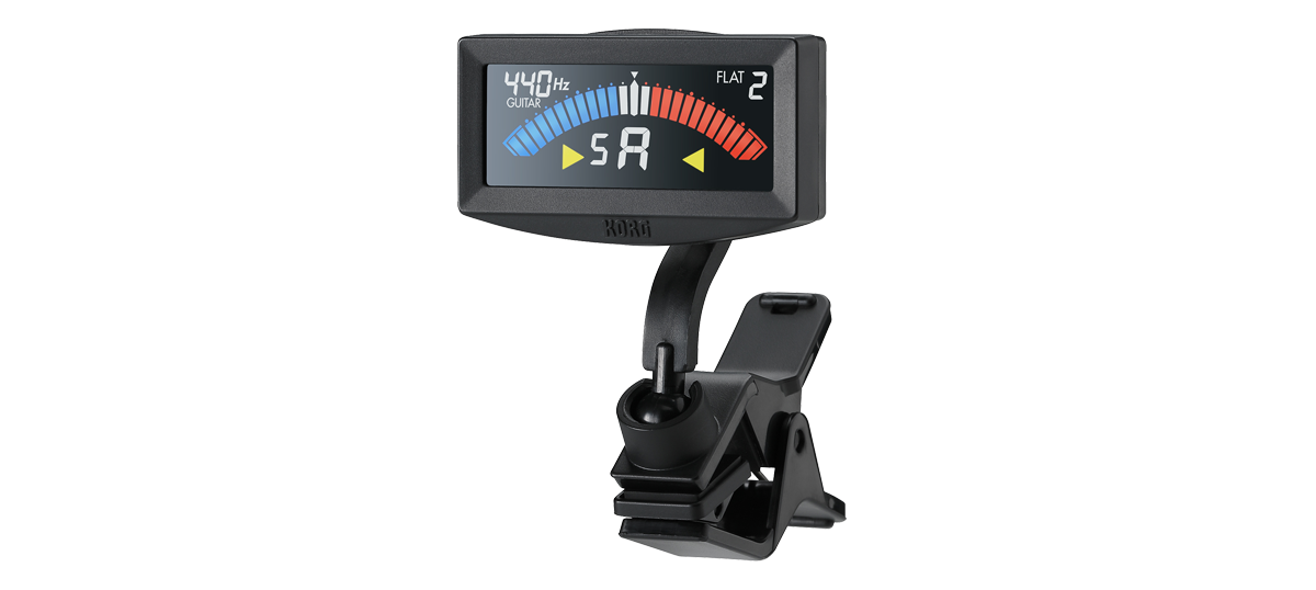 Korg AW4G PitchCrow Clip On Tuner In Black