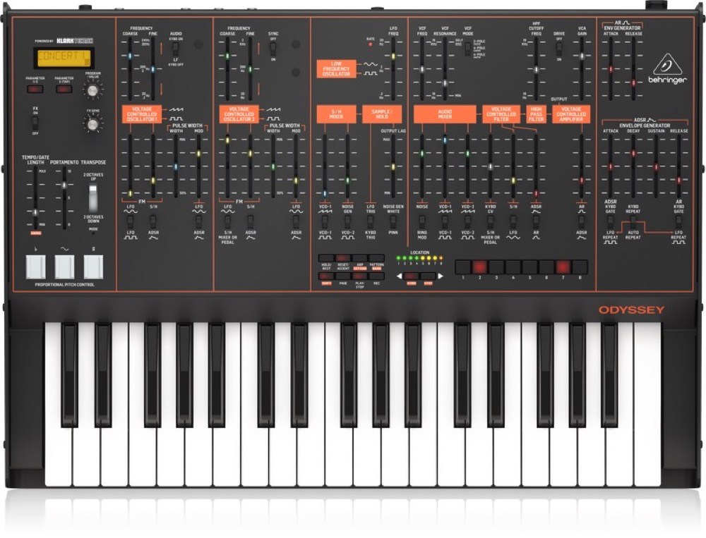 Behringer Odyssey 37 Key Analog Synth With  …