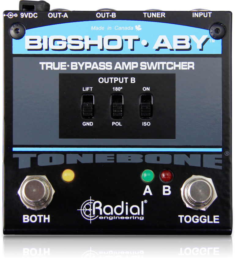 Radial BigShot ABY True Bypass Switch W/LED's