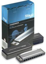 Stagg Blues Harmonica In A