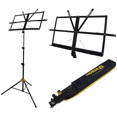 Hercules Music Stand With Bag