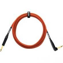 Orange 10 Foot Right Angle Instument Cable