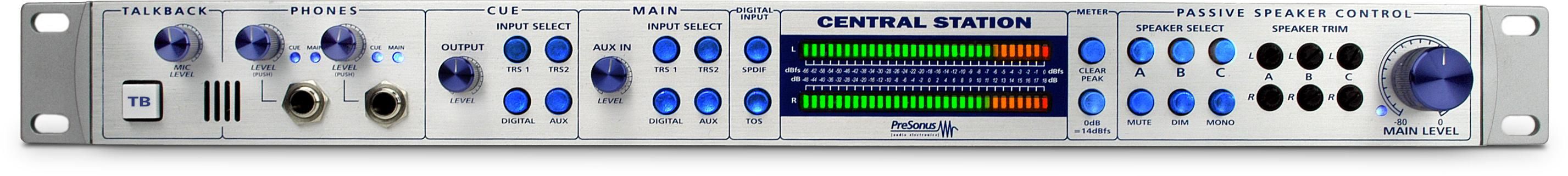 Presonus Central Station Plus Passive  …
