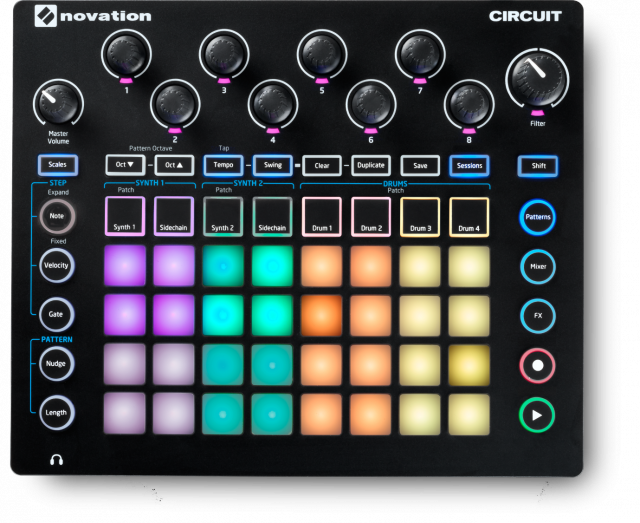 Novation Circuit Grid Based Groovebox