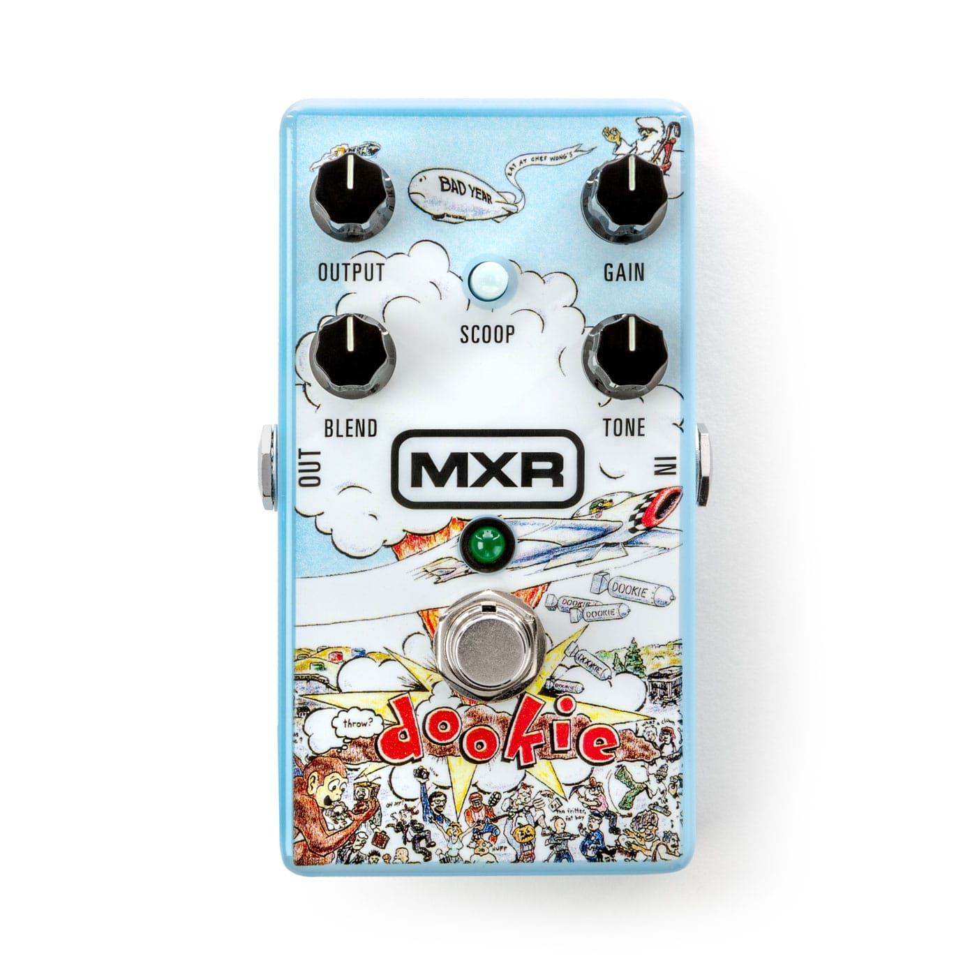 MXR Green Day Dookie Drive