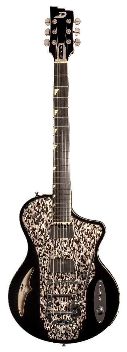 Duesenberg Julia Guitar In Black With Case