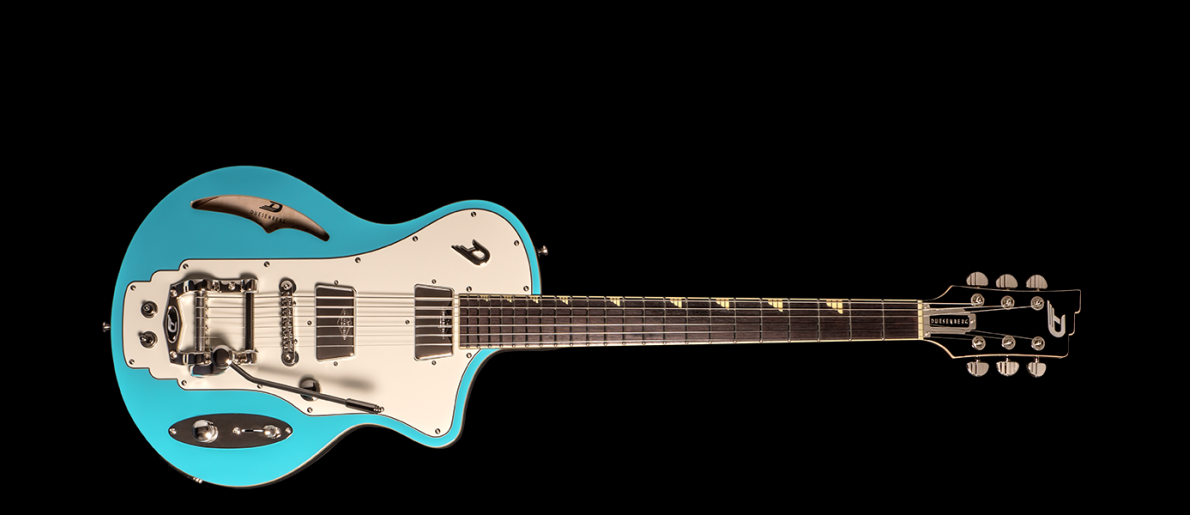 Duesenberg Julia Guitar In Narvik Blue With Case