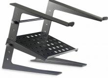 Stagg DJ Pro Metal Laptop Stand With Shelf