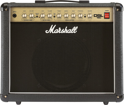 Marshall DSL15C 15w 2-channel Tube Combo