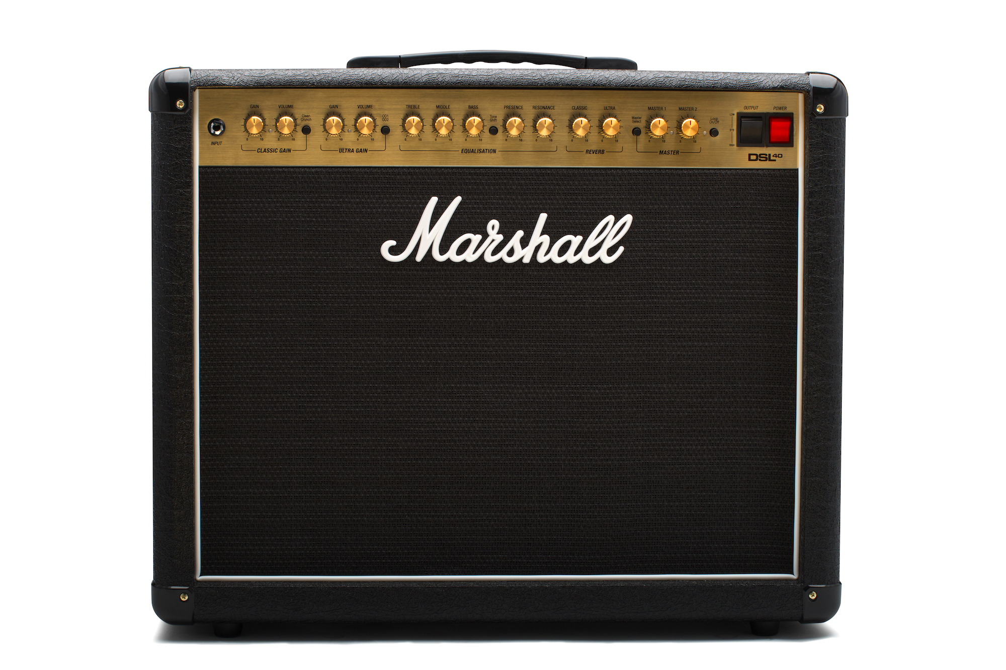 Marshall DSL40CR Revised 40w 2-channel Tube Combo