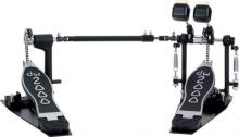 DW 2000 Series Double Pedal With Single Chain  …