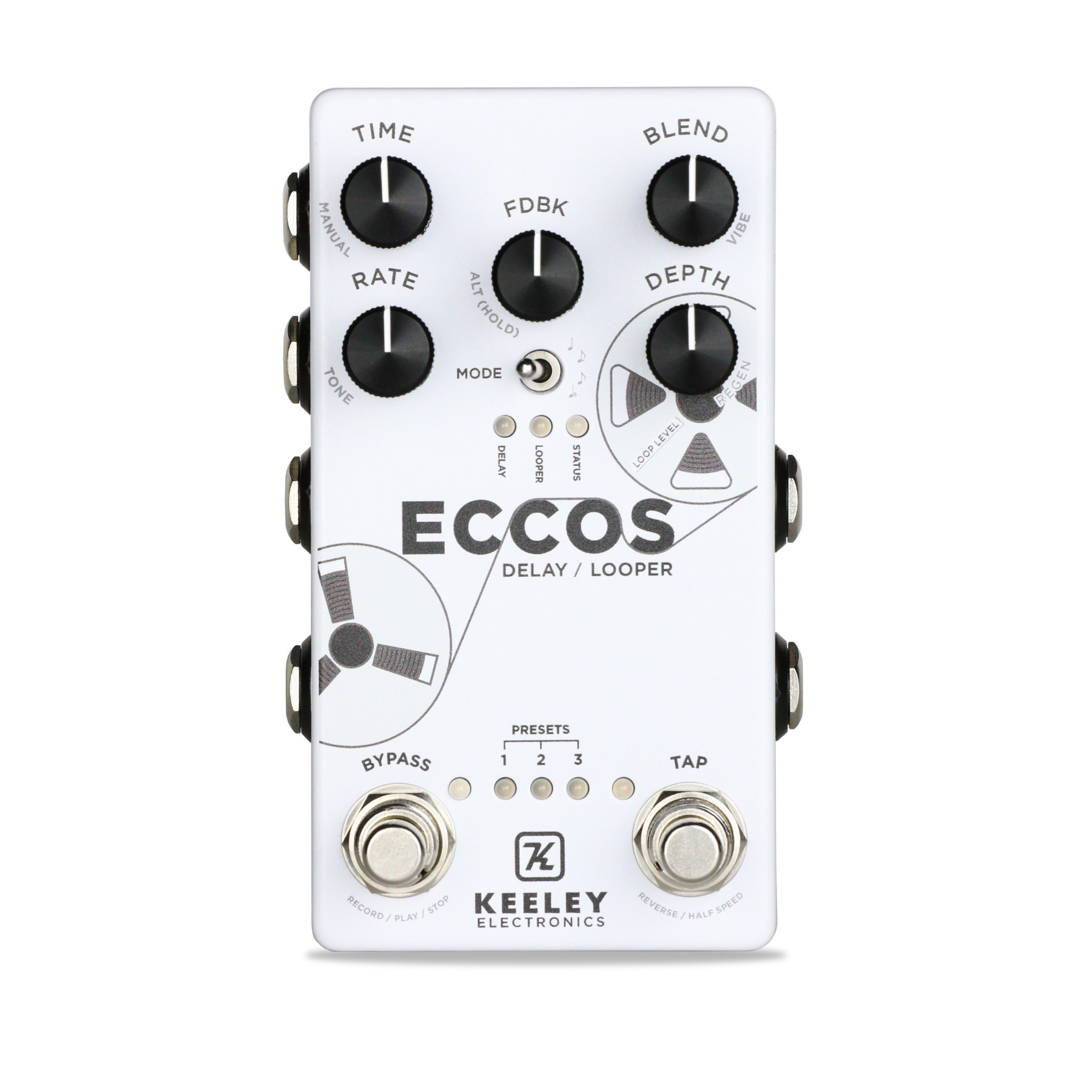 Keeley Eccos Delay Looper Pedal