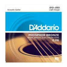 D'Addario EJ16 12-53 Acoustic 10 Pack