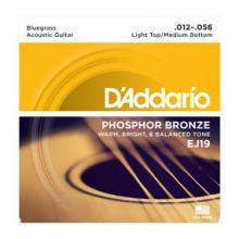 D'Addario EJ19 12-56 Phosphor Medium Light