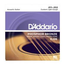 D'Addario EJ26 11-53 Phosphor Custom Light