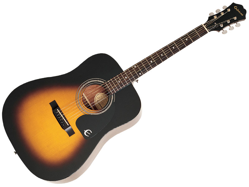 Case Design hard phone cases : Epiphone DR-100 Acoustic Vintage Sunburst - GEAR MUSIC