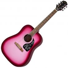 Epiphone Starling Acoustic - Hot Pink Pearl