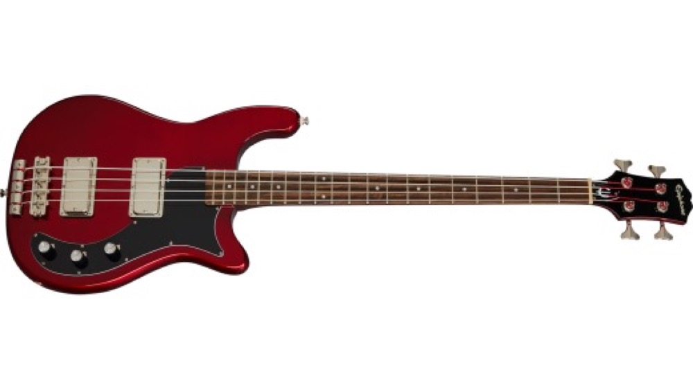 Epiphone Embassy Bass in Sparking Burgundy