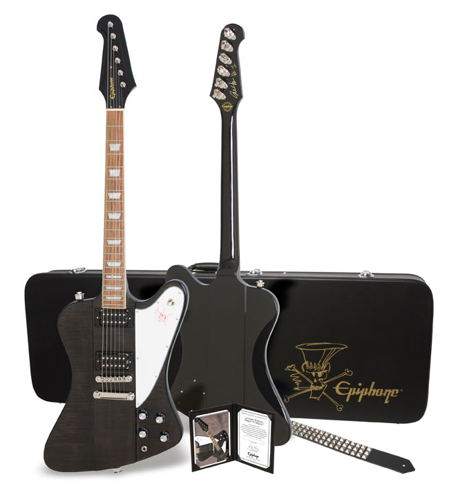 Epiphone Slash Firebird Premium Signed #49 of 100