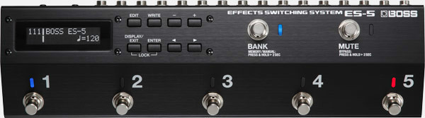 BOSS ES-5 Effects Switching System by Roland