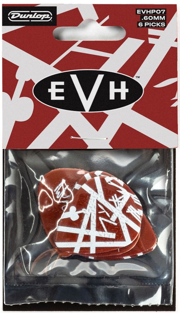 EVH Shark Guitar 6 Pick Pack by Dunlop