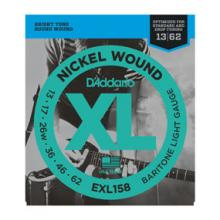 D'Addario EXL158 Baritone Low Tune Strings