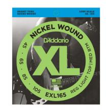 D'Addario EXL165 45-105 Bass Medium Light