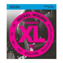 D'Addario EXL170S Bass 45-100 Short Scale