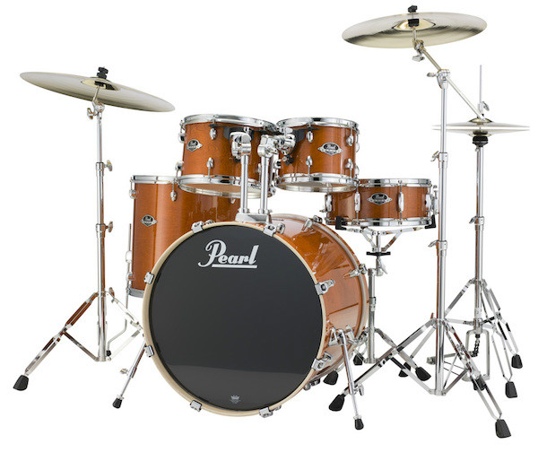 Pearl Export Lacquer Five Piece Shell Pack  …