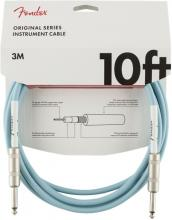 Fender 10 Foot Original Cable In Daphne Blue