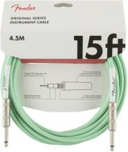 Fender 15 Foot Original Cable In Surf Green