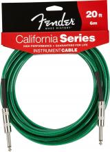 Fender 20 Foot  California Cable In SF Green