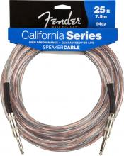 Fender 25 Foot 14GA Speaker Cable 1/4 To 1/4
