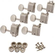 Fender Road Worn Tuners In Nickel