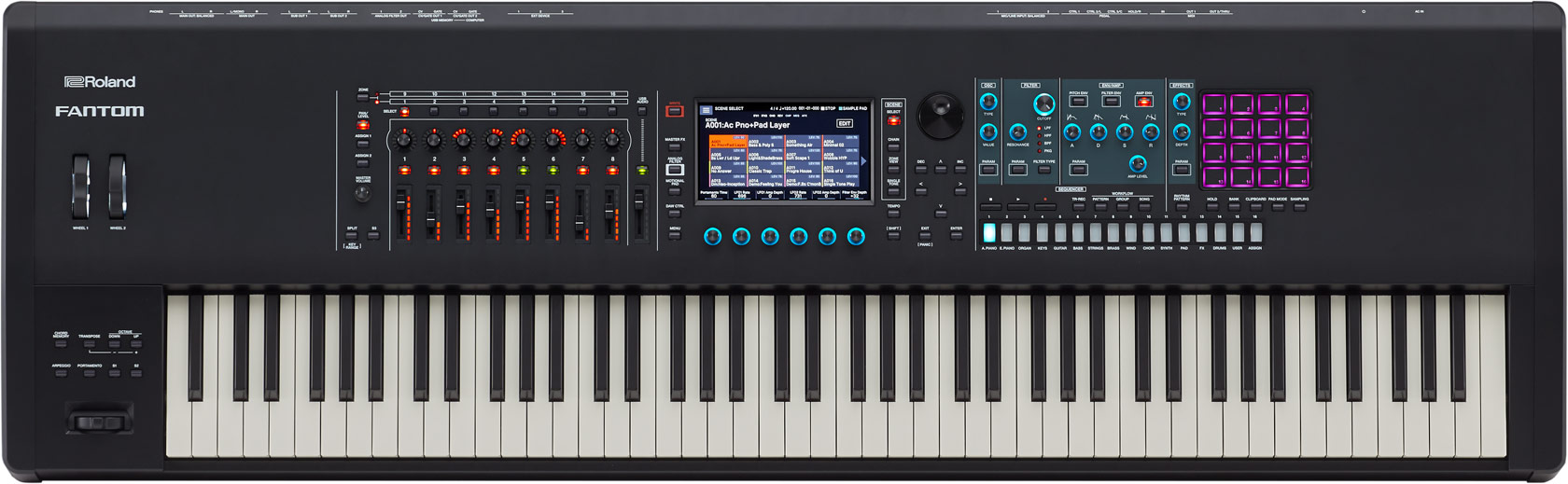 Roland Fantom 8 88-Key Synth Workstation