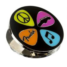 Fender Love Peace And Music Magnet