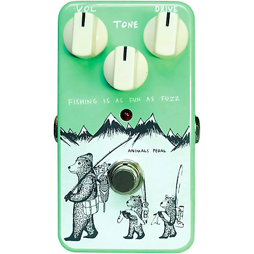 Animals Fishing Is As Fun As Fuzz Pedal