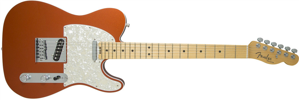 Fender American Elite Tele In Autumn  …
