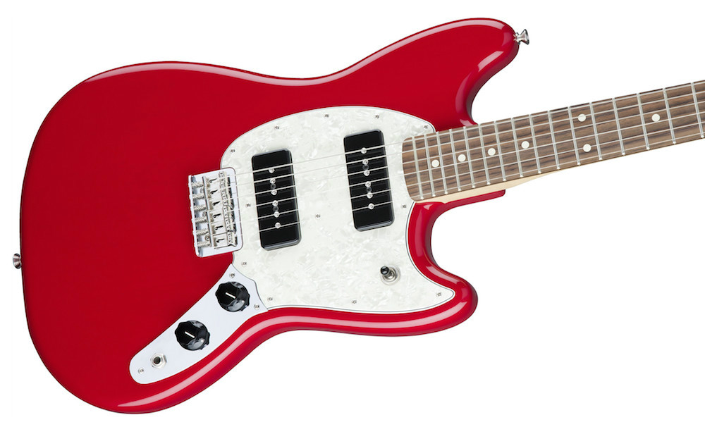 Fender Mustang 90 In Torino Red RW