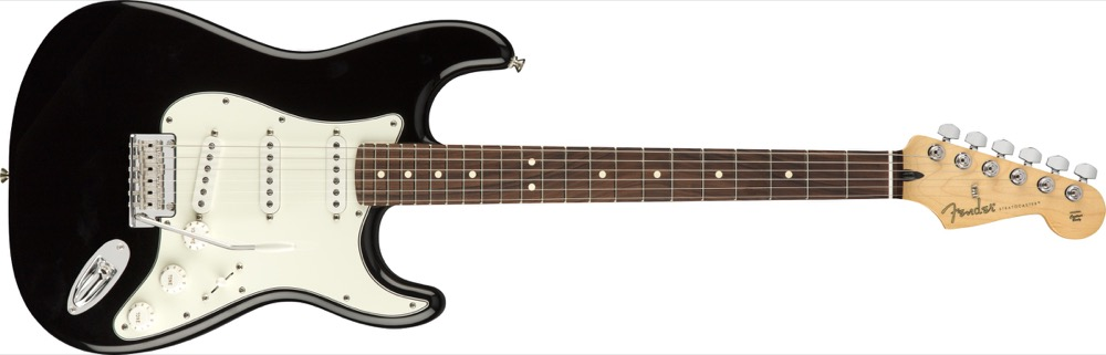Fender Player Strat In Black
