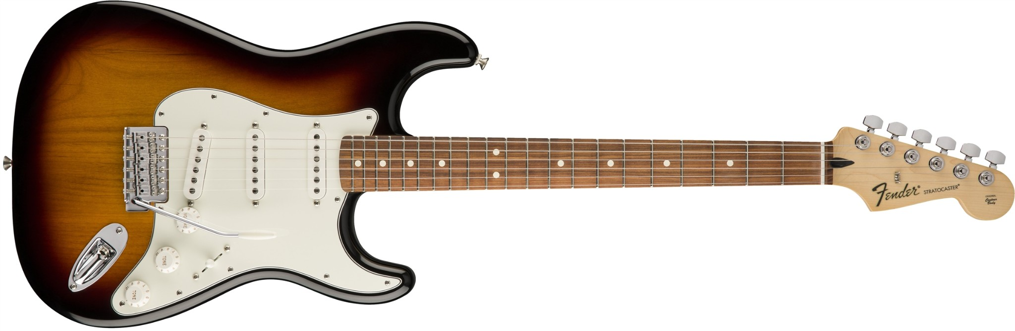 Fender Standard Stratocaster PF In Brown Sunburst