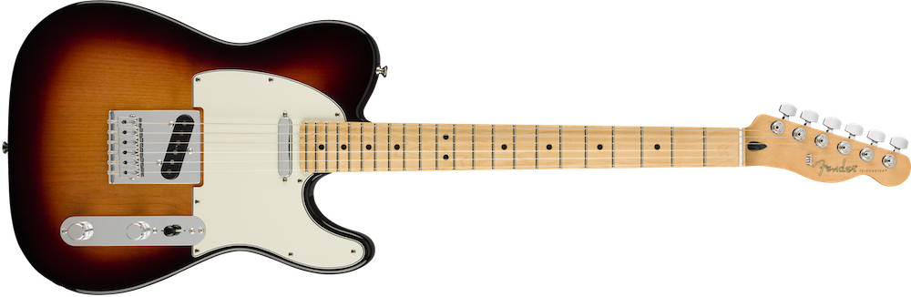 Fender Player Tele PF In 3 Tone Sunburst